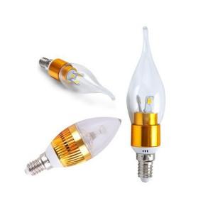 Bóng LED nến và nhót