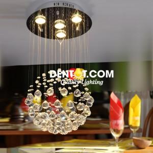 Đèn thả quả cầu pha lê cao cấp DT9025D04CLD