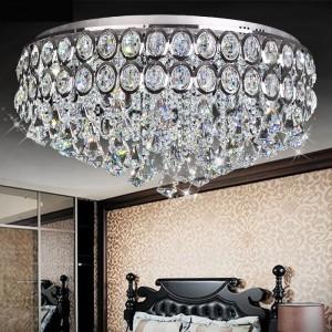 Đèn mâm pha lê LED áp trần DT9075X12B-60x29