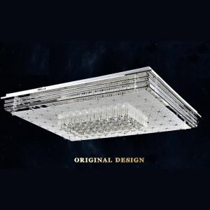 Đèn mâm vuông pha lê LED DTX8003-2