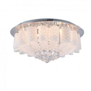 Đèn mâm áp trần pha lê hình lá LED LC015-4