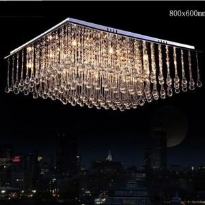Đèn mâm áp trần LED pha lê giọt nước DTLC027-2