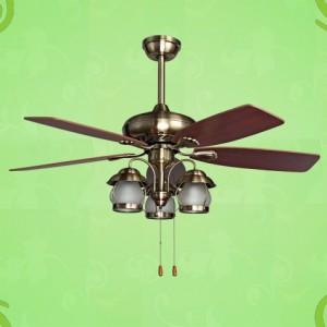 Đèn quạt trần trang trí nội thất DTZS-48-0068