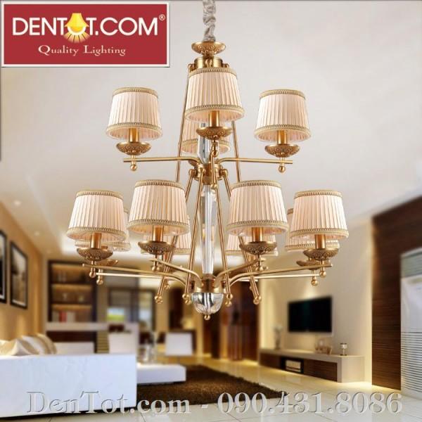 Đèn chùm phòng khách cỡ lớn DT8604-8+4P