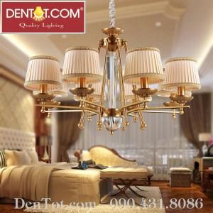 Đèn chùm phòng khách 8 bóng DT8604-8P