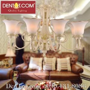Đèn chùm trang trí Châu Âu DT8702-8P