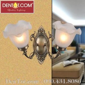 Đèn ốp tường đồng DT8705-2W