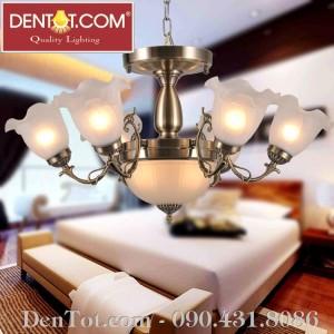 Đèn chùm đồng DT8705-6+2P