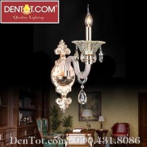 Đèn ốp tường pha lê phong cách Châu Âu DT8802-1W