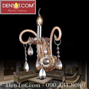 Đèn chùm nến pha lê Châu Âu DT8804-1W