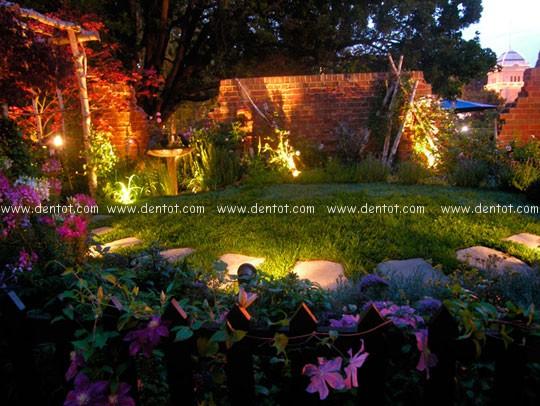 Led pha hắt trang trí sân vườn, tiểu cảnh