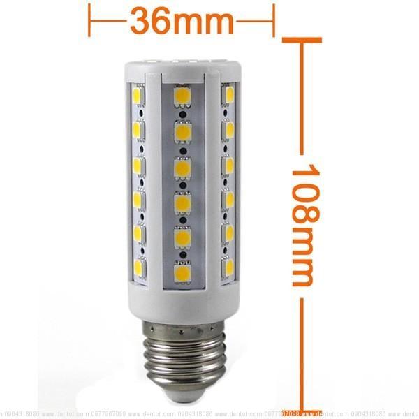 Bóng LED bắp 360 độ 15W