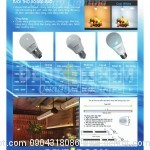 Đèn LED Nhật Bản dạng bóng tròn Bulb