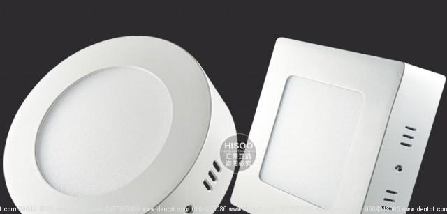 Đèn ốp nổi LED có hình tròn và hình vuông