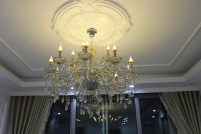 Lắp đèn chùm tại Hà Đông, căn hộ cao cấp Huyndai Hillstate