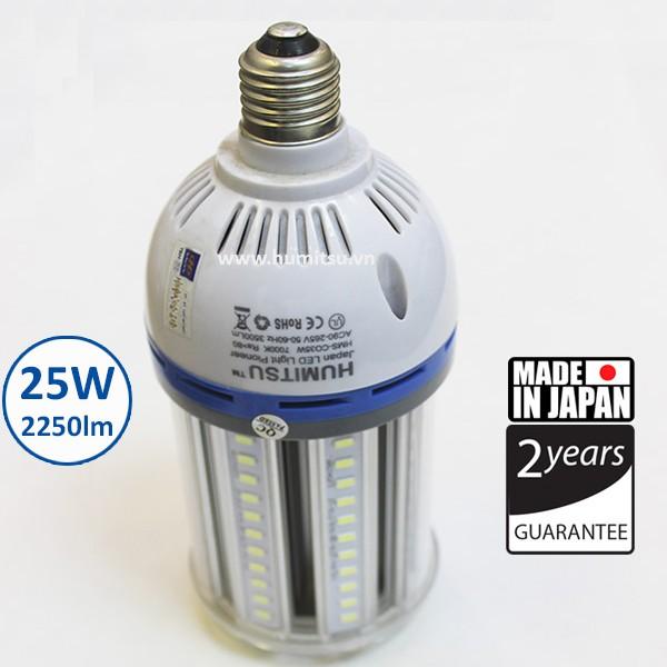 Đèn LED bắp Nhật Bản HUMITSU 25w
