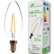 Bóng đèn sợi LED siêu tiết kiệm điện đui E14