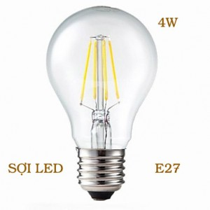 Bóng LED sợi E27 4W