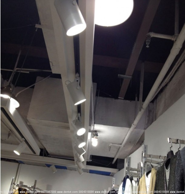 Đèn rọi ray LED cho showroom