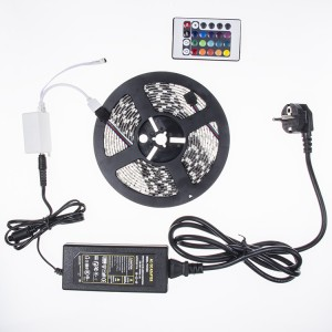Bộ đèn led dây Đổi màu, dán 12V 5m
