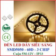 Đèn LED Dây dán 12V cuộn 5M